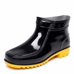 Maschile PVC Stivali da pioggia Casuale Stivali da uomo (261172547)