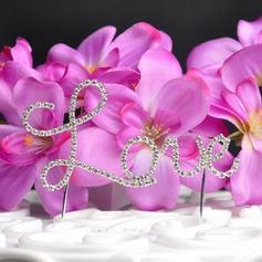 Amano il design Cromo Matrimonio Decorazioni per torte (119031356)