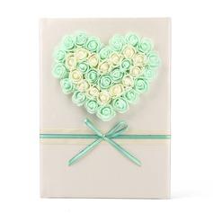 Flor/Corazón Libro de visitas (101165513)