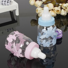 Stile classico/Bella A Forma di Bottiglia Plastica Barattoli e Bottiglie (set di 12) (050166443)