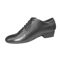 Real Leather Flats Ballroom Practice Dance Shoes (053013145)