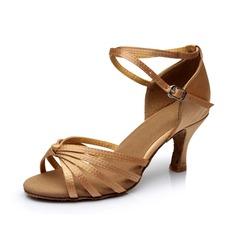 Donna Raso Tacchi Sandalo Latino con Listino alla caviglia Scarpe da ballo (053053099)