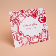 Personalized Heart Style Thank You Cards (Set of 50) (114059349)