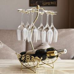Estantería de vino Hierro Simple Elegante Centros de mesa (128198726)