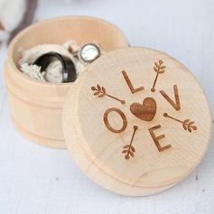 Einfache Ring-Kasten in Holz (103186345)