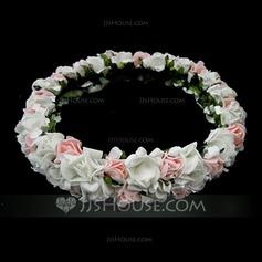 Niños Precioso Hilado de la red La muchacha de flor celada (042025211)