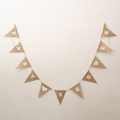 Semplice/Stile classico/Triangolo Bella/Elegante Biancheria Decorazioni per Matrimonio (11 pezzi) (131174309)