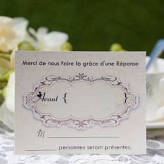 Personalized Modern Style Response Cards (Set of 50) (114063942)