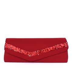 Prächtig Satin Handtaschen (012013552)