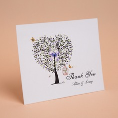 Personalized Heart Style Thank You Cards (Set of 50) (114059345)