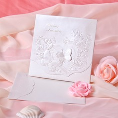 Perhonen tyyli Tri-Fold Invitation Cards (Sarja 10) (114033284)