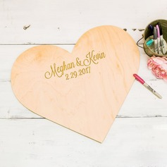 Personalized design Wood Guestbook (101198172)