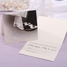 Personalized Bride & Groom Style Top Fold Response Cards (Set of 20) (114063915)