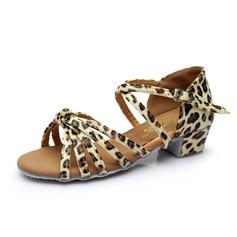 Per bambini Similpelle Tacchi Sandalo Latino con Listino alla caviglia Scarpe da ballo (053053052)