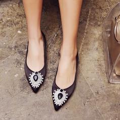 Donna Similpelle Senza tacco Ballerine Punta chiusa con Fibbia Altrui scarpe (086153092)