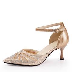 Kvinnor Glittrande Glitter Klackar Latin Dansskor (053175310)