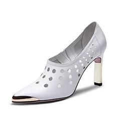 Aitoa nahkaa Piikkikorko Avokkaat Suljettu toe kengät (085062180)