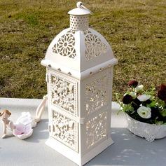 Hübsche Blume Design Bügeleisen Kerze Laterne (131038481)