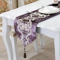 Retro élégante style classique tissu cuisine et salle à manger (203172184)