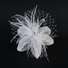 Fashion Feather/Lace Fascinators (042048127)
