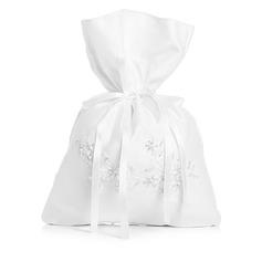 Fascino Satinato con Perle imitazione Borsa da sposa (012003827)