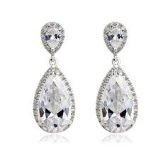 Jewerly beautiful zircon platinum plated Gifts (129166764)