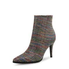 Frauen PU Stöckel Absatz Absatzschuhe Geschlossene Zehe Stiefel Schuhe (088132677)