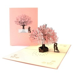 Artistic Style Side Fold Invitation Cards (Set of 10) (114205141)