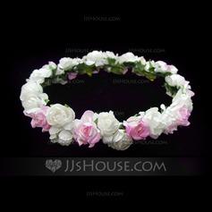 Crianças Lovely Papel Capacete da menina flor (042025216)