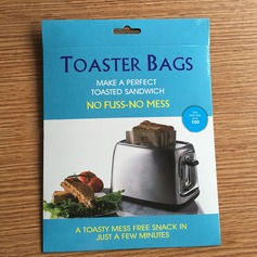 Moderno Clássico Non Stick Reuseable Toaster Bags para Sandwich e Grelhar (Conjunto de 2) Não Personalizado Presentes (129140470)