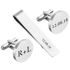 Gemelos Tie de Clip Estilo clásico Aleación Personalizado Regalos (129166787)
