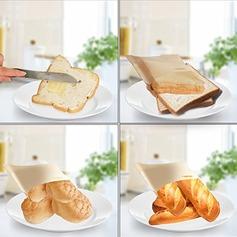 Moderno Clássico Non Stick Reuseable Toaster Bags para Sandwich e Grelhar (Conjunto de 2) Não Personalizado Presentes (129140480)