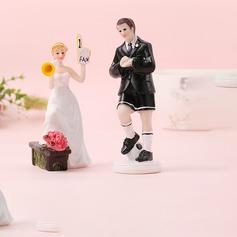 Sportiva Coppia/Mr & Mrs Resina Decorazioni per torte (Venduto in un unico pezzo) (119187423)