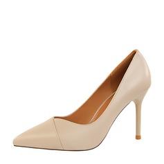 Frauen PU Stöckel Absatz Absatzschuhe Geschlossene Zehe mit Andere Schuhe (085139796)