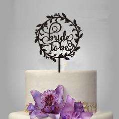 Pour toujours Acrylique Décoration pour gâteaux (119197327)