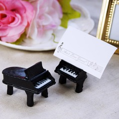 Piano Design Resin Place Card Holders (Set of 2) (051025018)