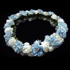 Stylish Satin/Paper Flower Girl's Headwear (042025215)