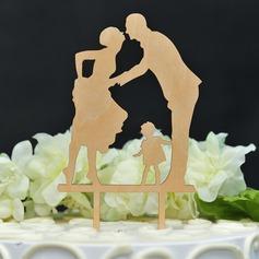 Stile classico/Felice Anniversario Legno Decorazioni per torte (119157015)