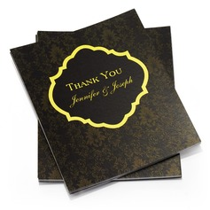 Personalized Floral Style Thank You Cards (Set of 50) (114054962)
