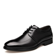 Maschile Similpelle Cap Toes Allacciato Scarpe da sera Oxford da uomo (259173585)