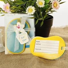 Scarpe Design Gomma Etichette per il bagaglio (Venduto in un unico pezzo) (051151689)