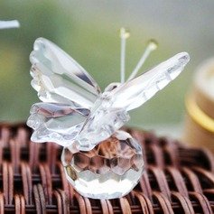 Butterfly Crystal Keepsake With Ribbons (051024188)
