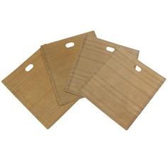 personnalisé Traite des sacs à griller réutilisables sans bâche pour le sandwich et le grillage (Lot de 4) (051139892)
