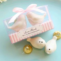 Simpatici Uccelli Di ceramica Sale & del Pepe Scuotipaglia (Set di 2) (051172000)