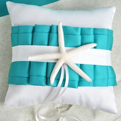 Beach Themed Ring Pillow With Starfish (103018271)