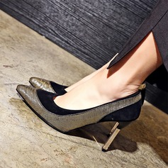 Donna Camoscio Tacco a spillo Stiletto Punta chiusa con Altrui scarpe (085153086)