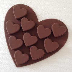 En forma de corazón Silicona Molde de la torta (051053244)