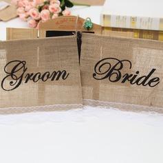 Semplice/Stile classico/Nizza Bella/Elegante Biancheria Decorazioni per Matrimonio (Set di 2) (131174299)