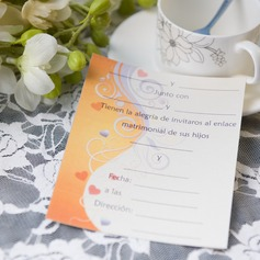 moderni tyyli Yksiosainen kortti Invitation Cards (Sarja 50) (114064004)