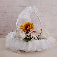 Elegante Cesto di fiori in Raso con Strass (102142955)